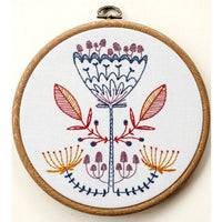 Shroom Bloom Hand Embroidery Kit