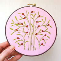 Spring Robins Hand Embroidery Kit
