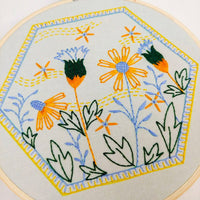 Summer Breeze Hand Embroidery Kit