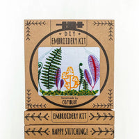 Terrarium Hand Embroidery Kit
