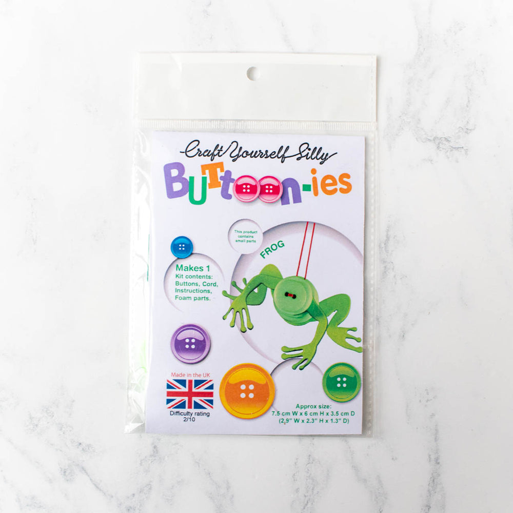 Buttoonies Button Craft Kit - Frog (20% OFF)