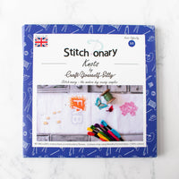 Stitch-onary Embroidery Stitch Sampler - Knots