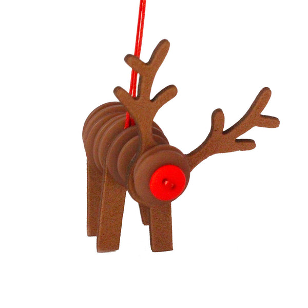Buttoonies Button Craft Kit - Reindeer