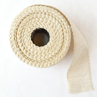 Scallop Edged Natural Aida Stitching Band - 2 inches
