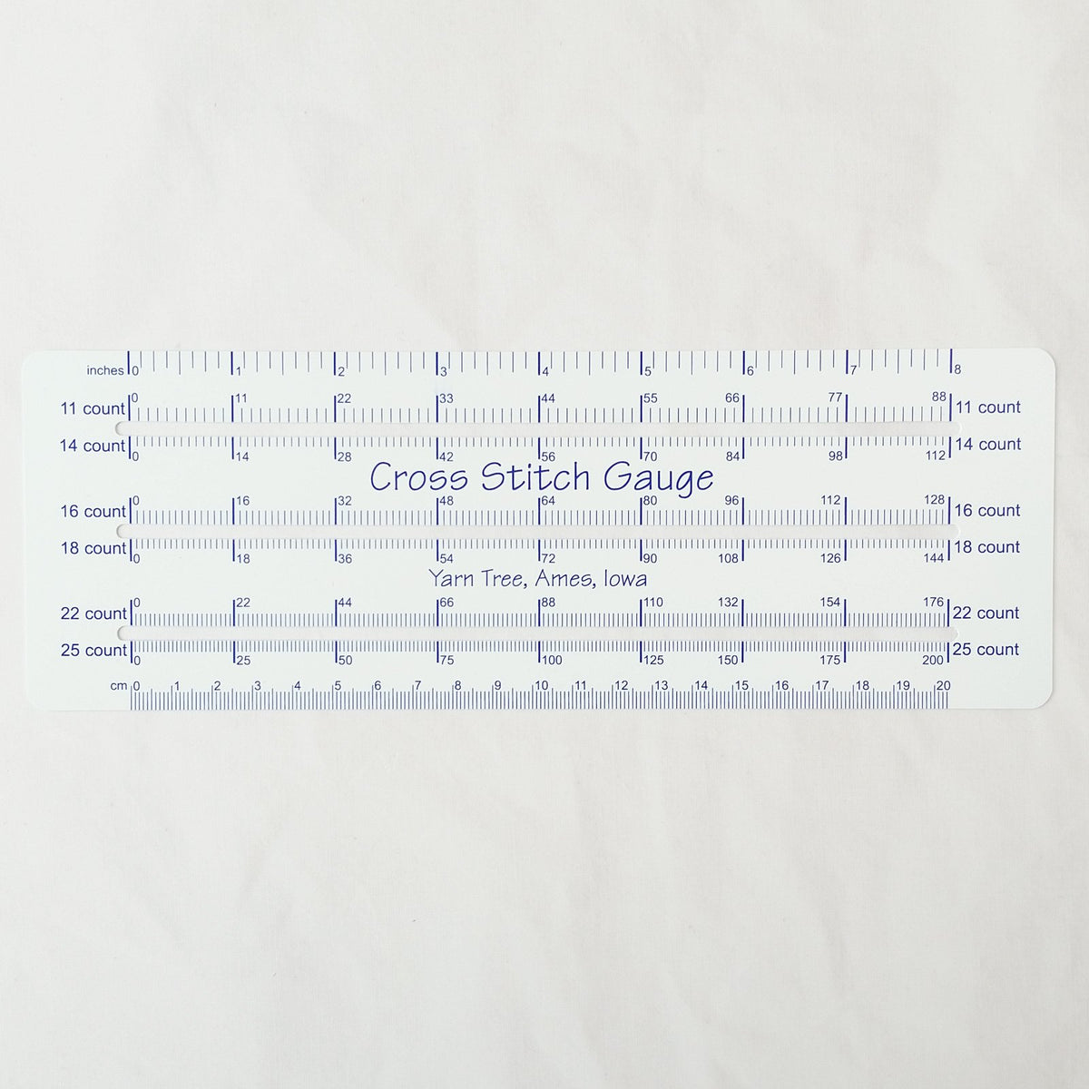 Cross Stitch Gauge and Rule