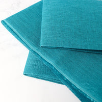 Riviera Aqua Linen Cross Stitch Fabric