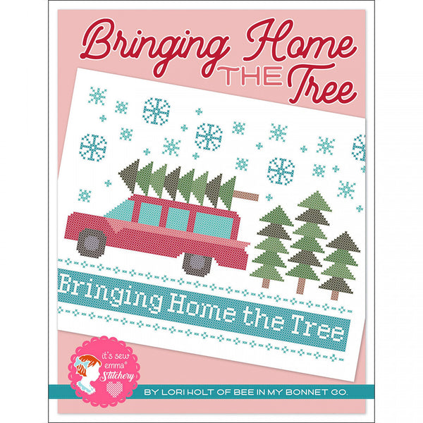 Bringing Home the Tree Cross Stitch Pattern