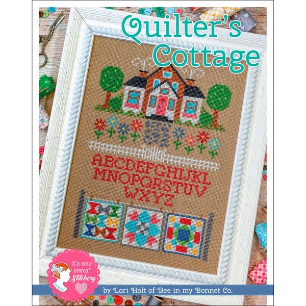 Quilter's Cottage Cross Stitch Pattern