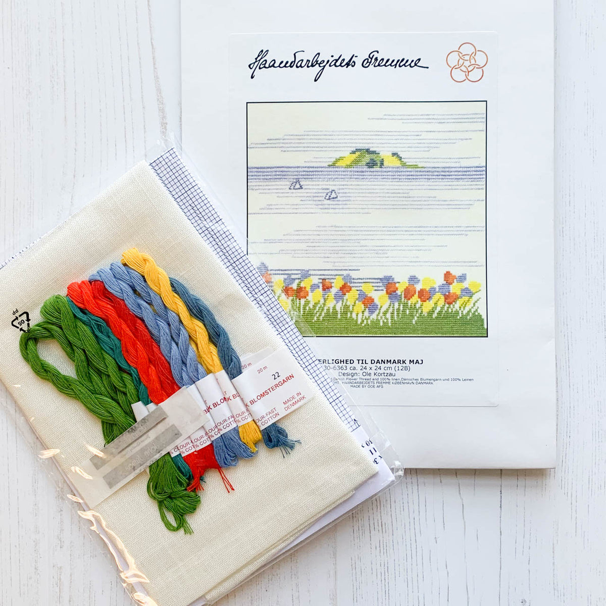 Danish Landscape Cross Stitch Kit - Island