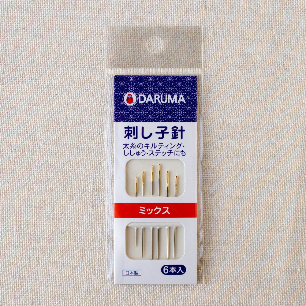 Daruma Sashiko Needles - Assorted