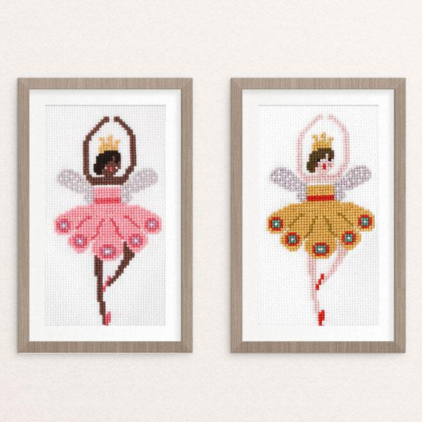 Ballerina Fairies Cross Stitch Pattern (40% OFF)