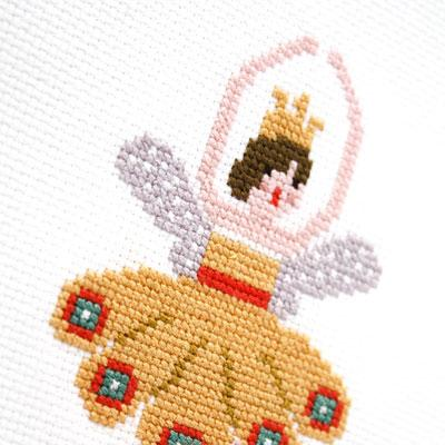 Ballerina Fairies Cross Stitch Pattern