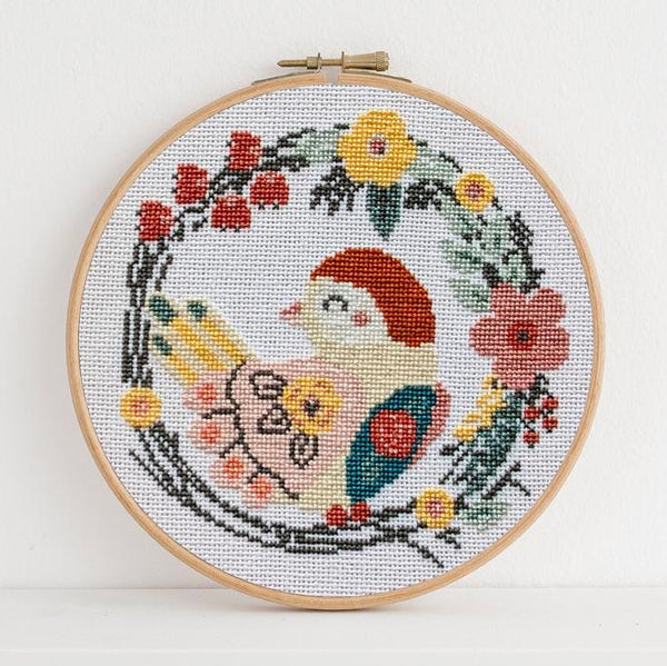 Pretty Bird Cross Stitch Pattern