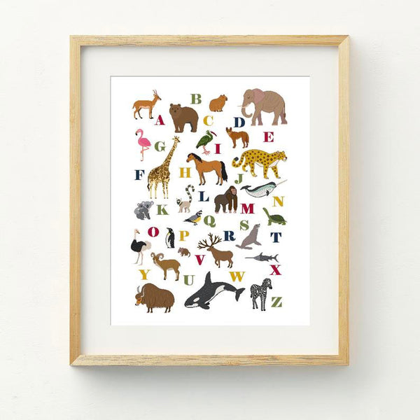Wild Kingdom Cross Stitch Pattern