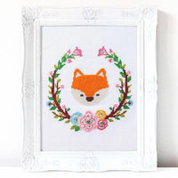 Foxy Cross Stitch Pattern