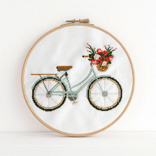 Lovely Day Cross Stitch Pattern