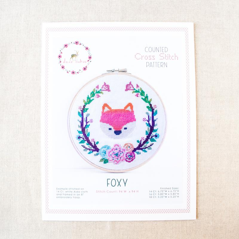 Foxy Cross Stitch Pattern (20% OFF)