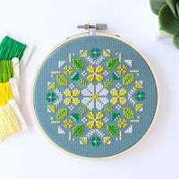 Alpine Flowers Cross Stitch Kit