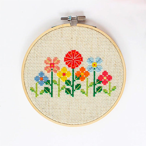 Flower Garden Cross Stitch Kit