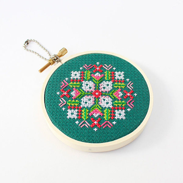 Winter Bouquet Cross Stitch Mini Kit