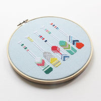 Summer Oars Cross Stitch Kit