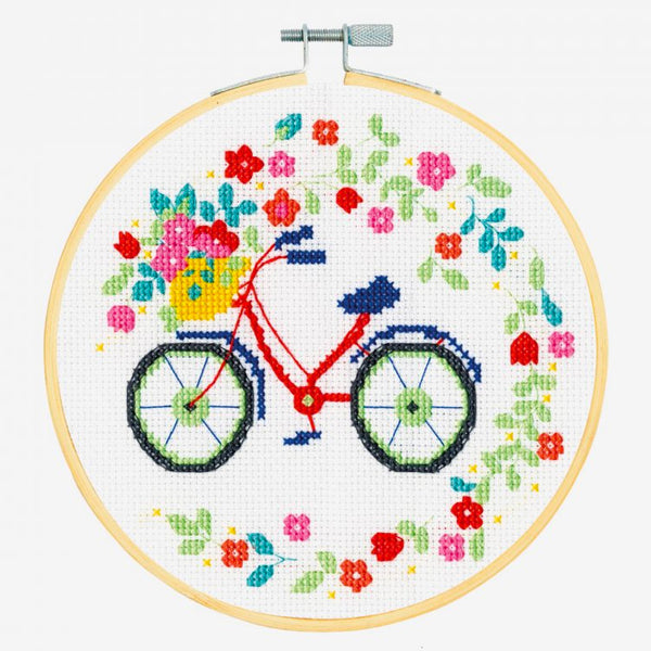 DMC Cross Stitch Kit - Bicycle
