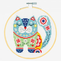 DMC Cross Stitch Kit - Cat