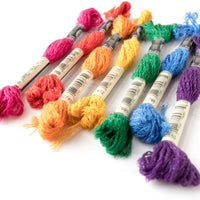 DMC Mouliné Étoile Embroidery Floss Collection - Bright Rainbow
