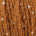 DMC C433 Mouliné Étoile Shimmer Embroidery Floss - Medium Brown