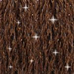 DMC C938 Mouliné Étoile Shimmer Embroidery Floss - Ultra Dark Coffee Brown