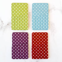 Polka Dot Needle Carrying Case