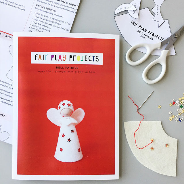 DIY Felt Craft Kit - Bell Fairies