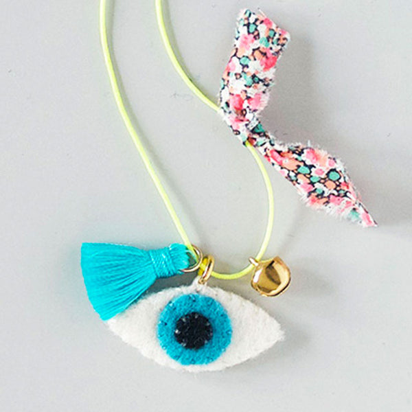 DIY Felt Charm Necklace Kit - Good Luck
