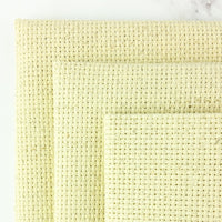 Fiddler's Cloth Aida Cross Stitch Fabric - Oatmeal