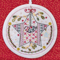 French Embroidery Kit - Star Ornament No. 1
