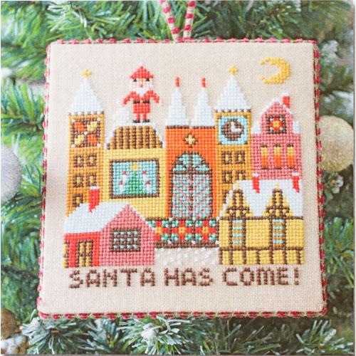 Santa Has Come (II) Cross Stitch Pattern