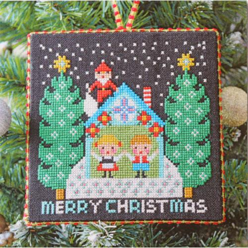 Santa Has Come (I) Cross Stitch Pattern