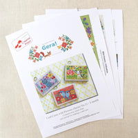 Card Cases with Flowers (Series 3) Cross Stitch Pattern