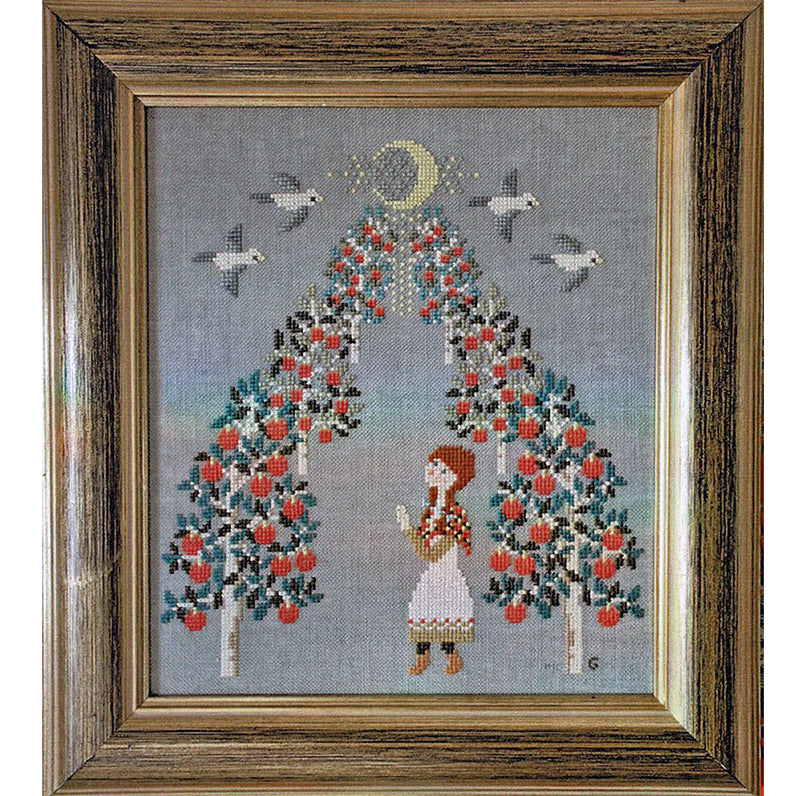 Anne of Green Gables Cross Stitch Pattern