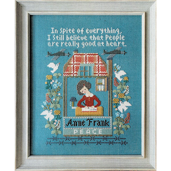 Anne Frank Cross Stitch Pattern