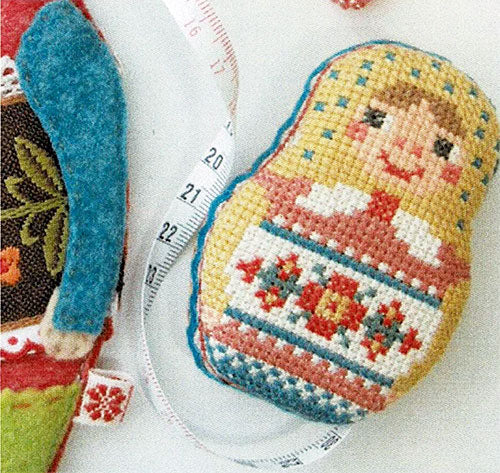 Matryoshka Needlework Set Cross Stitch Pattern