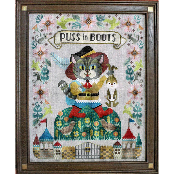Puss in Boots Cross Stitch Pattern