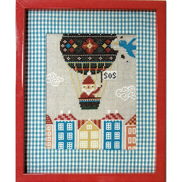 Santa's SOS Cross Stitch Pattern