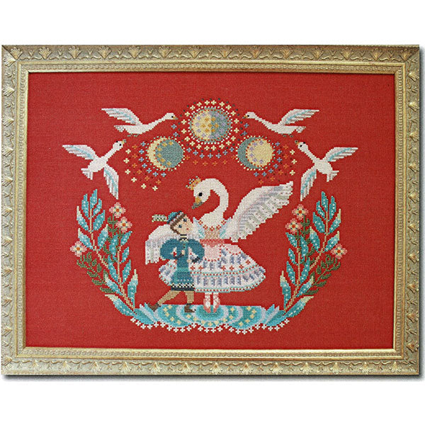 Swan Lake Cross Stitch Pattern