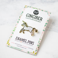 Create Your Own Magic Unicorn Enamel Pin by Gingiber