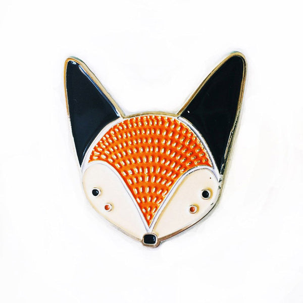 Fox Enamel Pin by Gingiber