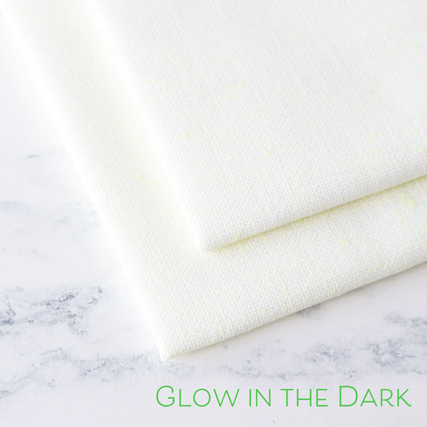 Glow in the Dark Linen Fabric