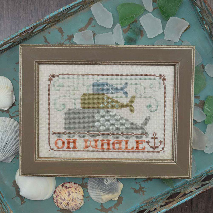 Oh Whale Cross Stitch Pattern