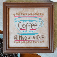 A Hug in a Cup Cross Stitch Pattern