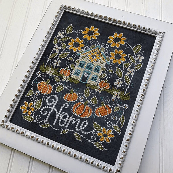 Chalkboard Cross Stitch Pattern - Sunflower Manor